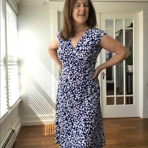 Chaps Ralph Lauren midi dress